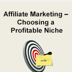 Affiliate Marketing Choosing a Profitable Niche