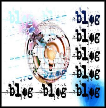 Blogging Banner Icon
