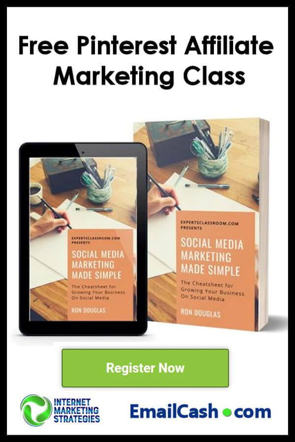 Free Pinterest Affiliate Marketing Class