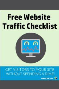 Free Website Traffic Checklist