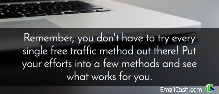 Free Website Traffic Checklist banner
