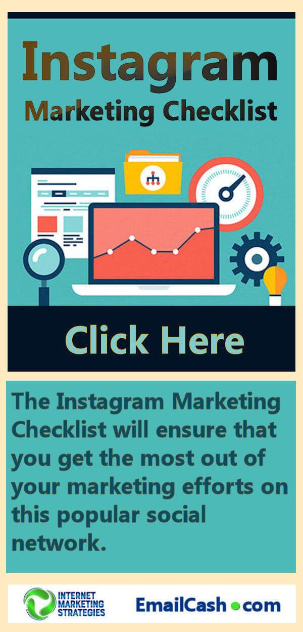 Instagram Marketing Checklist 3