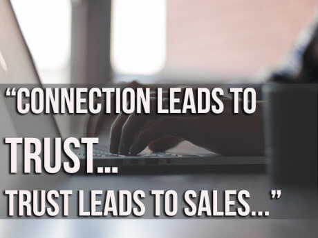 trust leads to sales