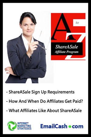 Promote ShareASale Affiliate Products