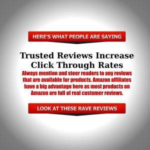 Trusted reviews increase click through rates