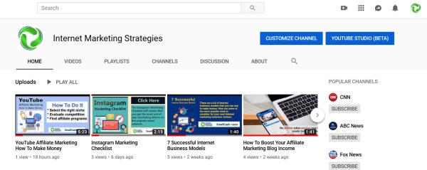 YouTube Traffic Generation 1